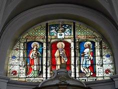 Kerk Pellenberg glasraam