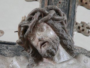 Kerk Pellenberg Koor Triomfgroep Christus detail