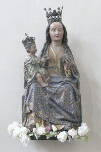 Ker Pellenberg Tronende Madonna met kind